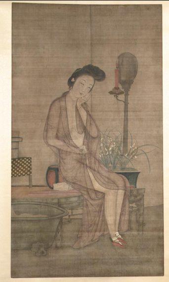 Meiren at Her Bath