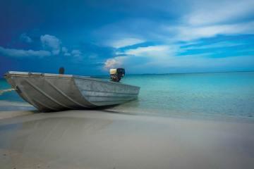 The beach at Koh Rong.