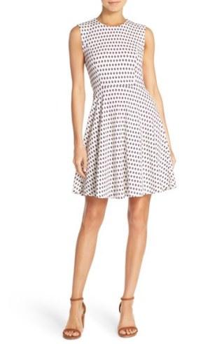 Dot Stretch Dress