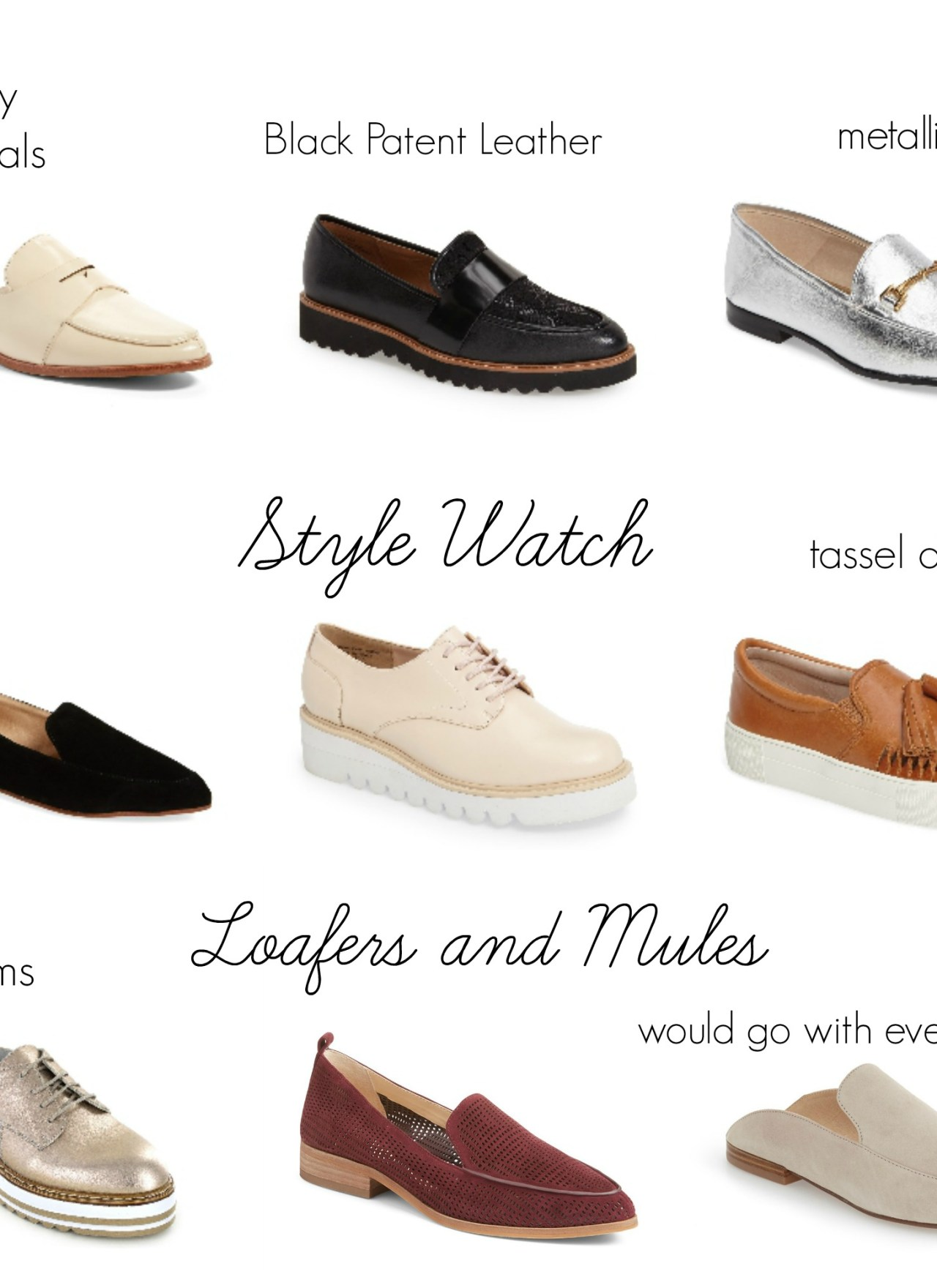 Style Watch: Loafers and Mules