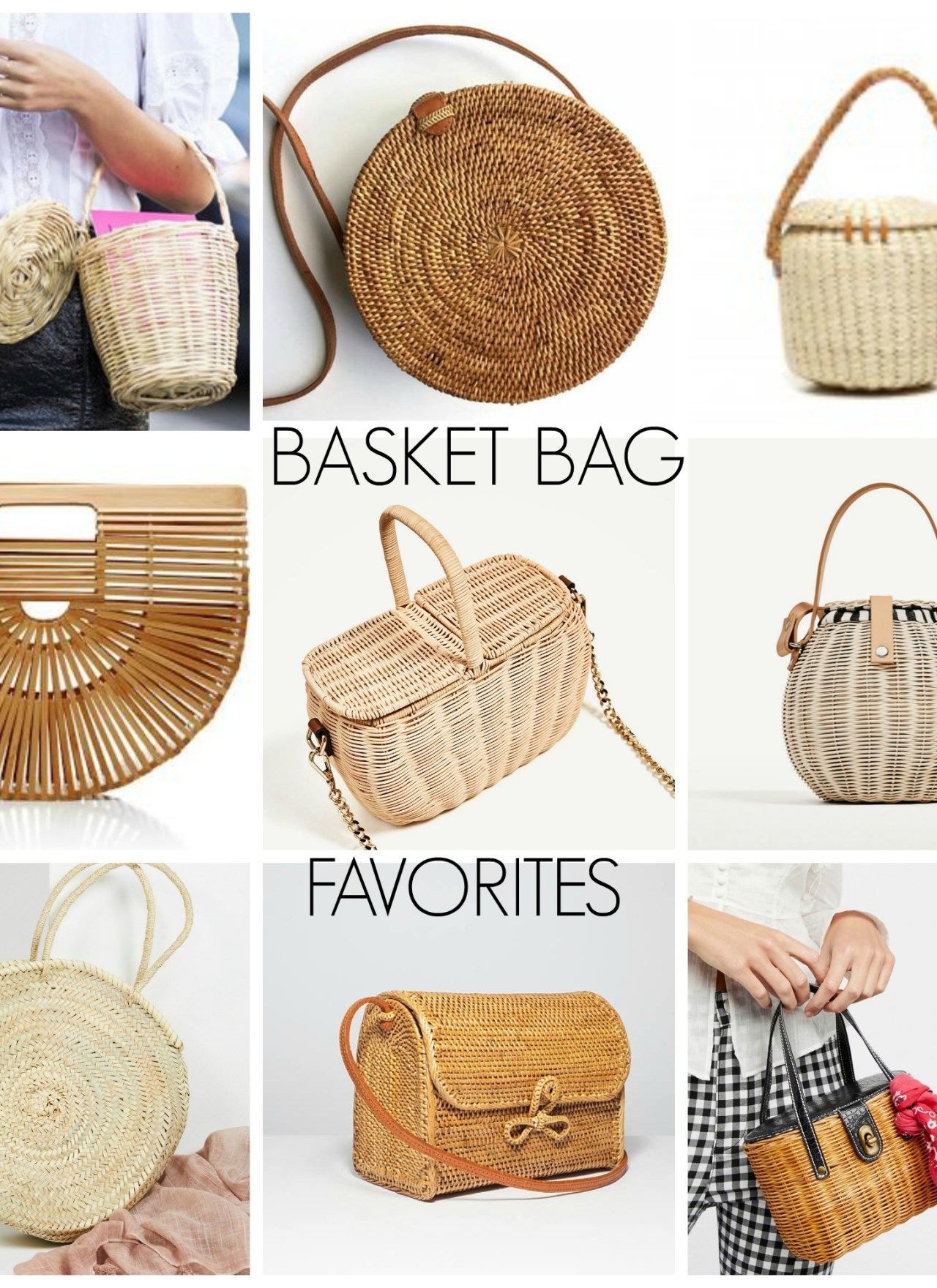 Basket Bags I'm Loving Right Now