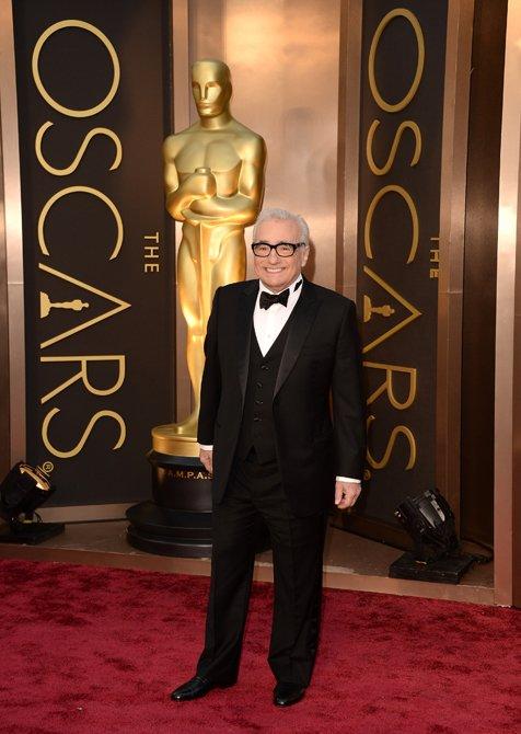Martin Scorsese, Leonardo DiCaprio and Harrison Ford Look Dashing In Giorgio Armani At The 2014 Oscars