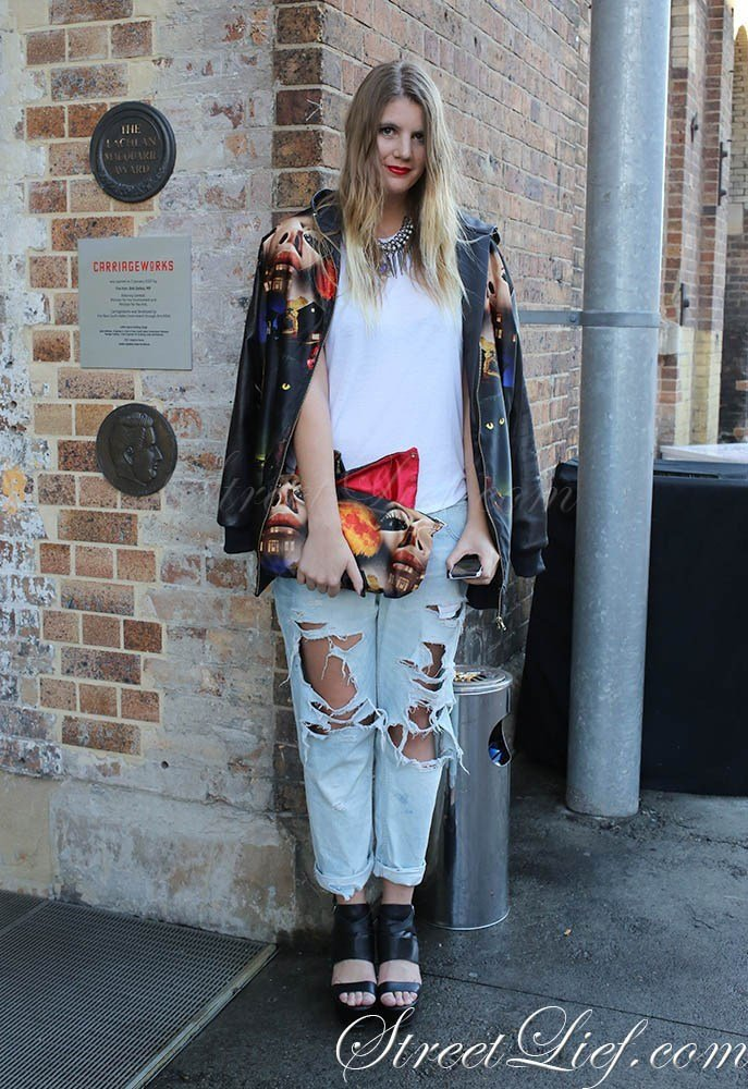 The Best Street Style From Fashion Week Australia 2013
