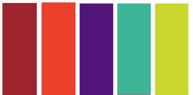 Come abbinare i colori: il viola