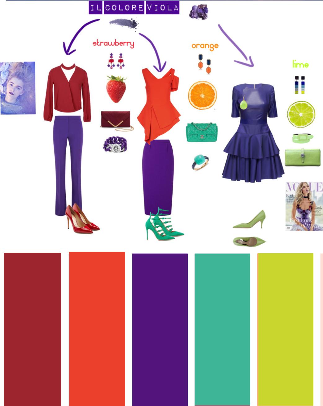 Come Creare Il Viola come abbinare il viola - the fashion cherry diary