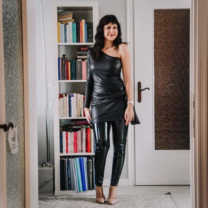 Come indossare dei leggins in pelle - The Fashion Cherry Diary