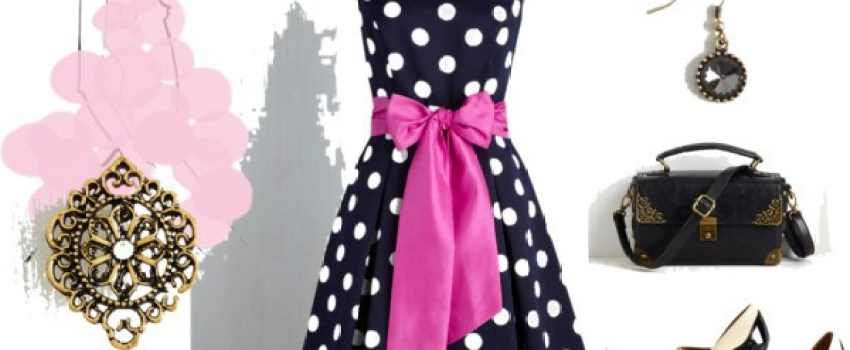 How to Style a Polka Dots Dress Like a Celebrity