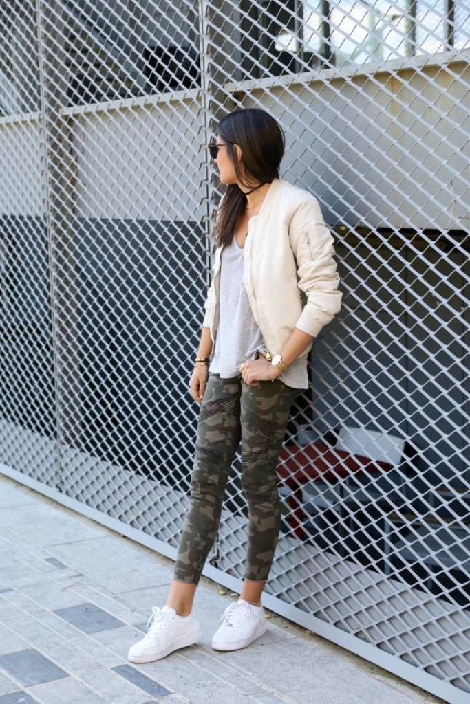 Styling a Bomber Jacket