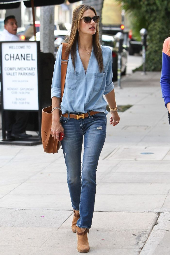 how to style denim