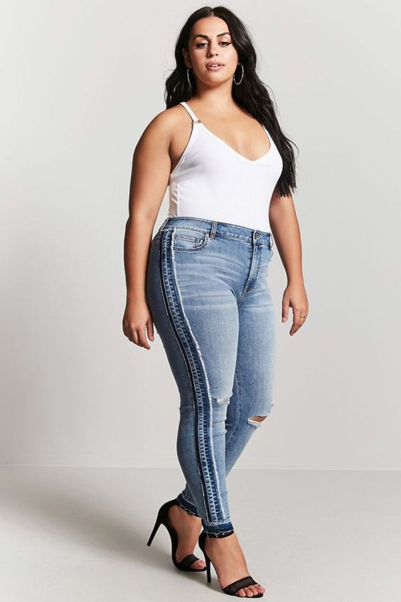 plus size jeans fashion