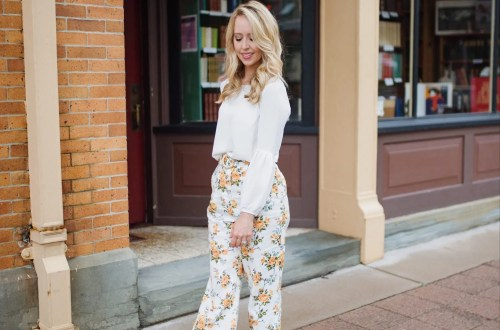 Zimmermann floral pants