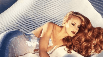 JERRY HALL FOR THIERRY MUGLER