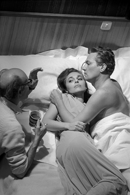 Anne Bancroft, Peter Finch & Jack Clayton