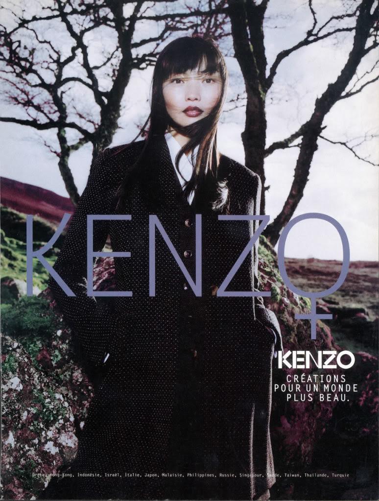 IRINA PANTAEVA for Kenzo