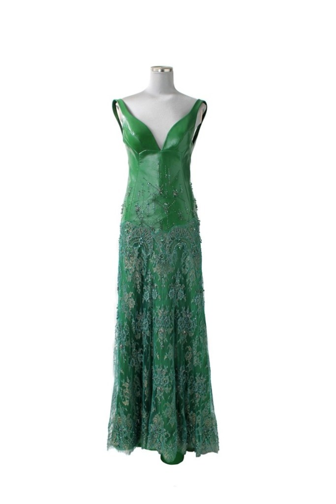 The Shiatzy Chen gown worn by actress Michelle Yeoh at the MET Gala in New York City