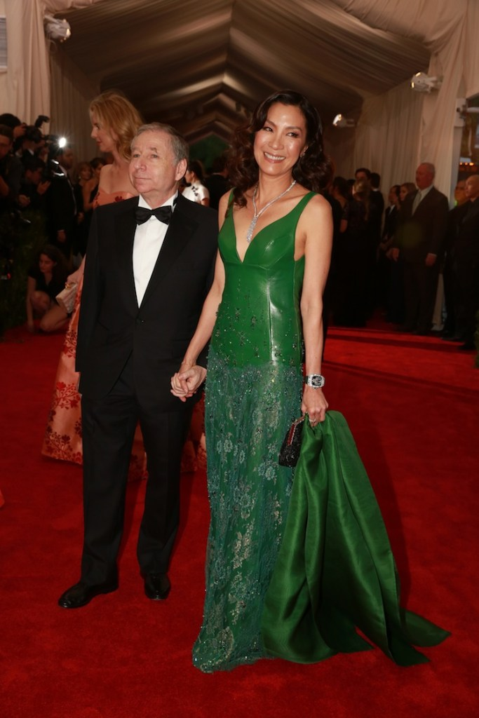 Michelle Yeoh in Shiatzy Chen at the MET Gala in New York City