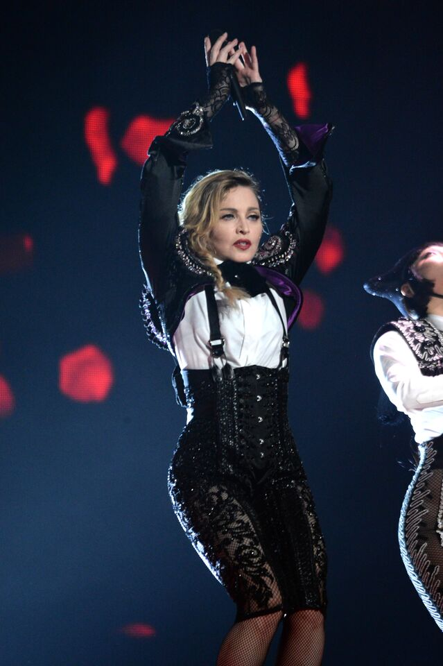 MADONNA ON THE REBEL HEART TOUR