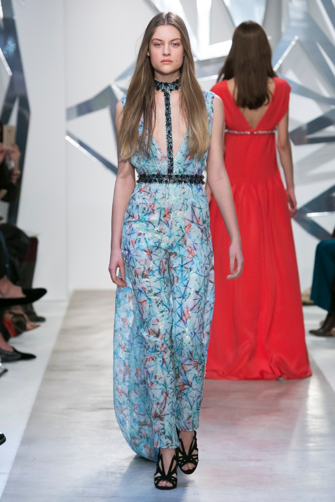 Azzaro Fashion Show, Haute Couture Spring Summer 2016 Collection in Paris