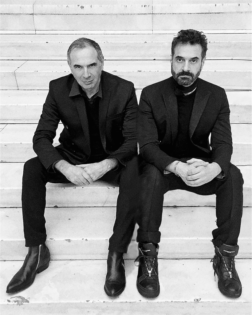 C.E.O. CARLO CAPASA and ARTISTIC DIRECTOR ENNIO CAPASA LEAVE COSTUME NATIONAL