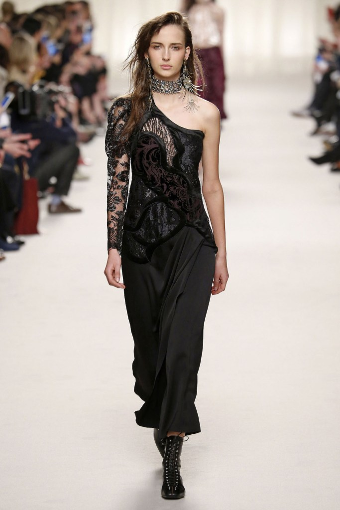 LANVIN Ready to wear fall winter 2016 _17; Paris_march 2016_