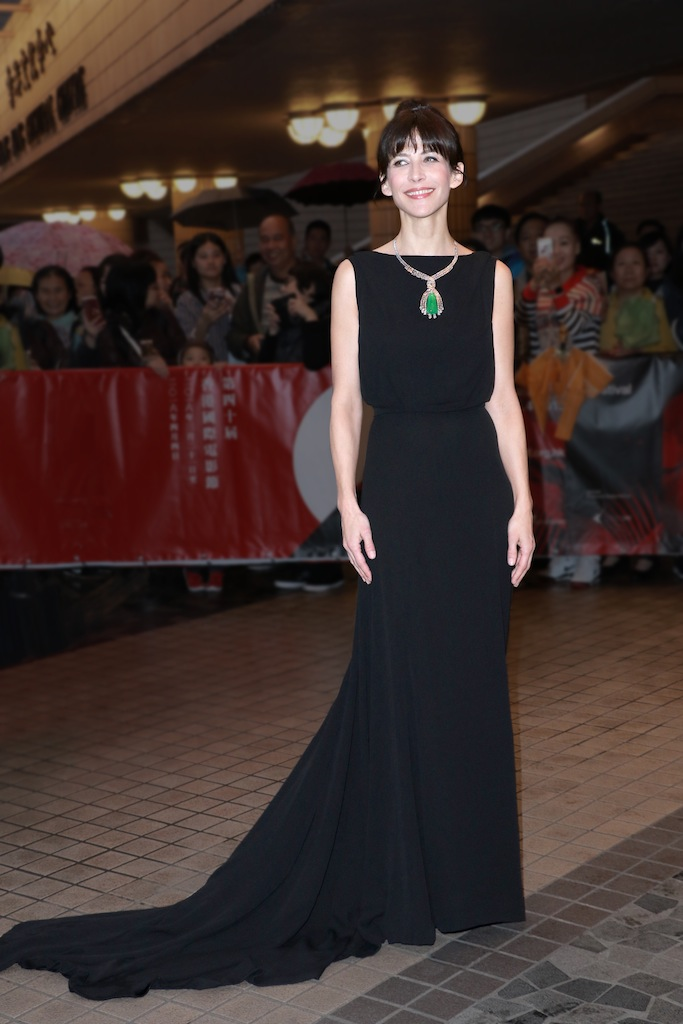 SOPHIE MARCEAU AT THE 40TH HONG KONG INTERNATIONAL FILM FESTIVIAL