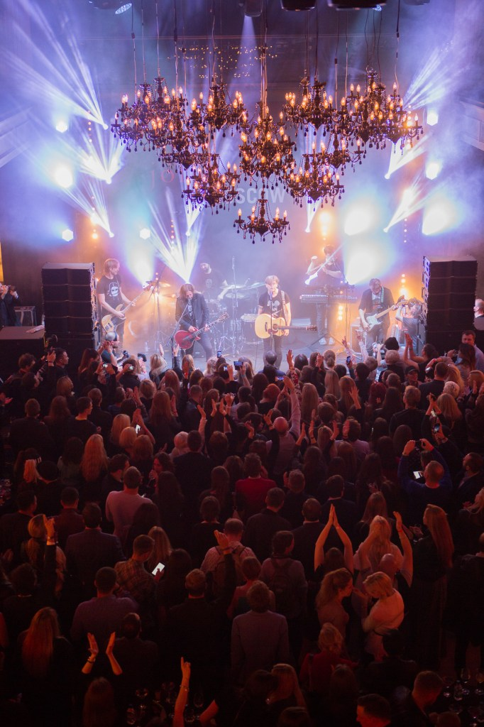 RUSSIAN ROCK GROUP Bi-2 PERFORMS FOR THE JOHN VARVATOS BOUTIQUE OPENING IN MOSCOW