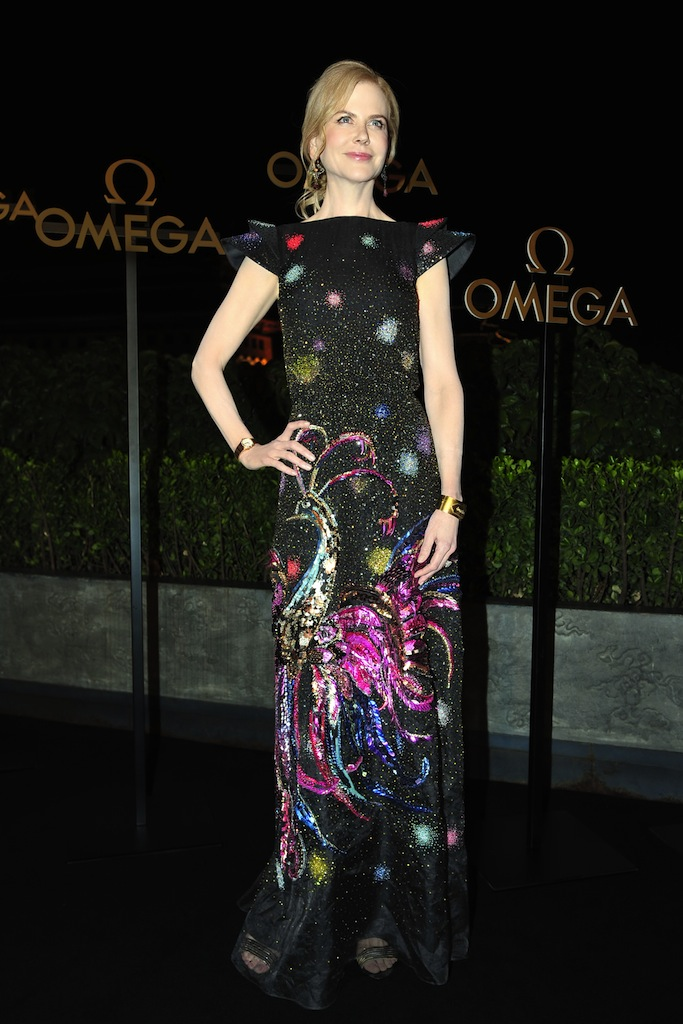 NICOLE KIDMAN IN SCHIAPARELLI (Photo by Imaginechina/REX/Shutterstock)
