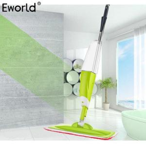 Eworld 1PCS 700ML Creative House Cleaning Spray Mop Lazy Dry And Wet Apply Flat Mop Household Solid Wood Floor Cleaning Tools - thefashionique