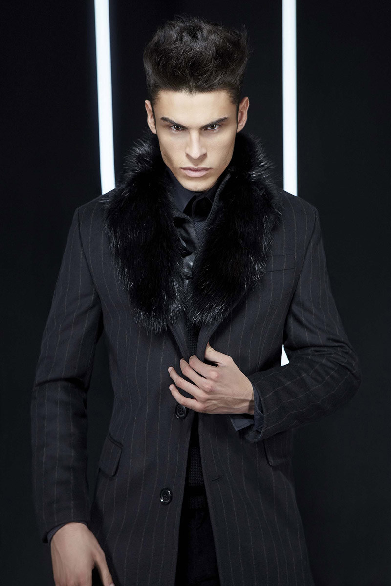 lagerfeldfall1 Baptiste Giabiconi for Lagerfeld Fall/Winter 2011