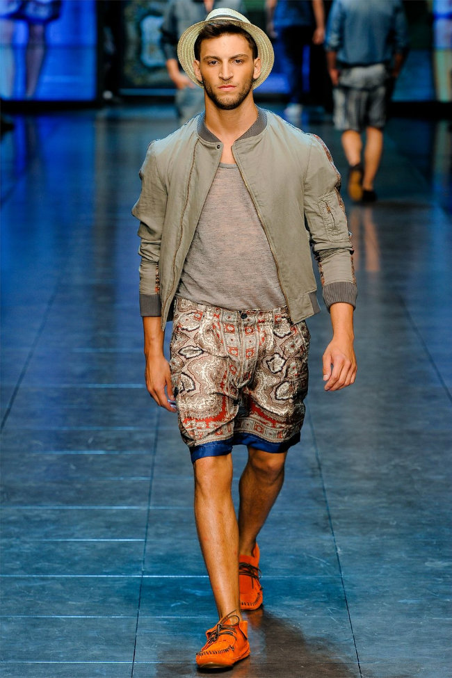 dgrunway10 D&G Spring 2012 | Milan Fashion Week