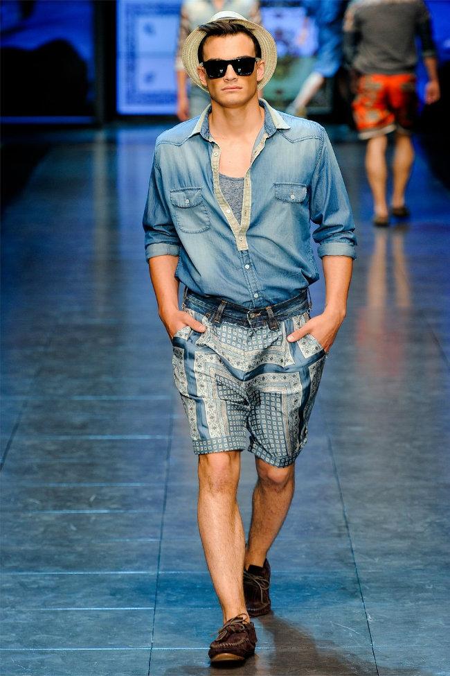 dgrunway12 D&G Spring 2012 | Milan Fashion Week