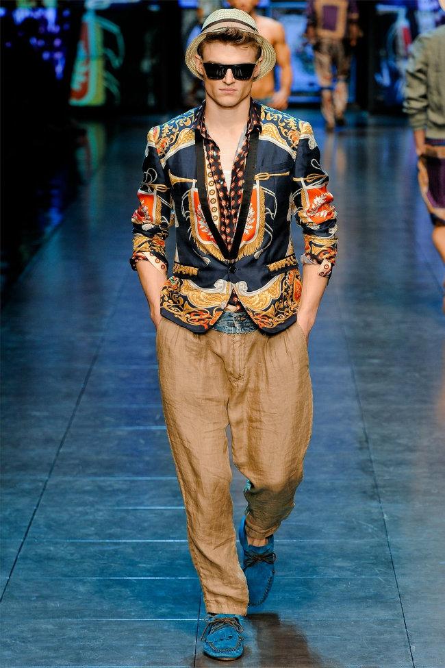 dgrunway4 D&G Spring 2012 | Milan Fashion Week