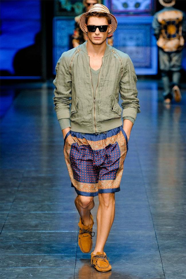 dgrunway8 D&G Spring 2012 | Milan Fashion Week