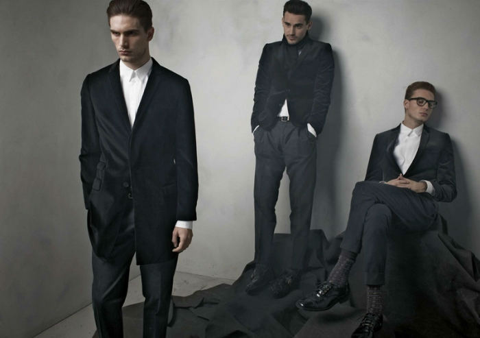 dgcollection7 Arthur Kulkov, Sam Webb, Antonio Navas & Julien Quevenne by Mariano Vivanco for Dolce & Gabbana Fall 2011
