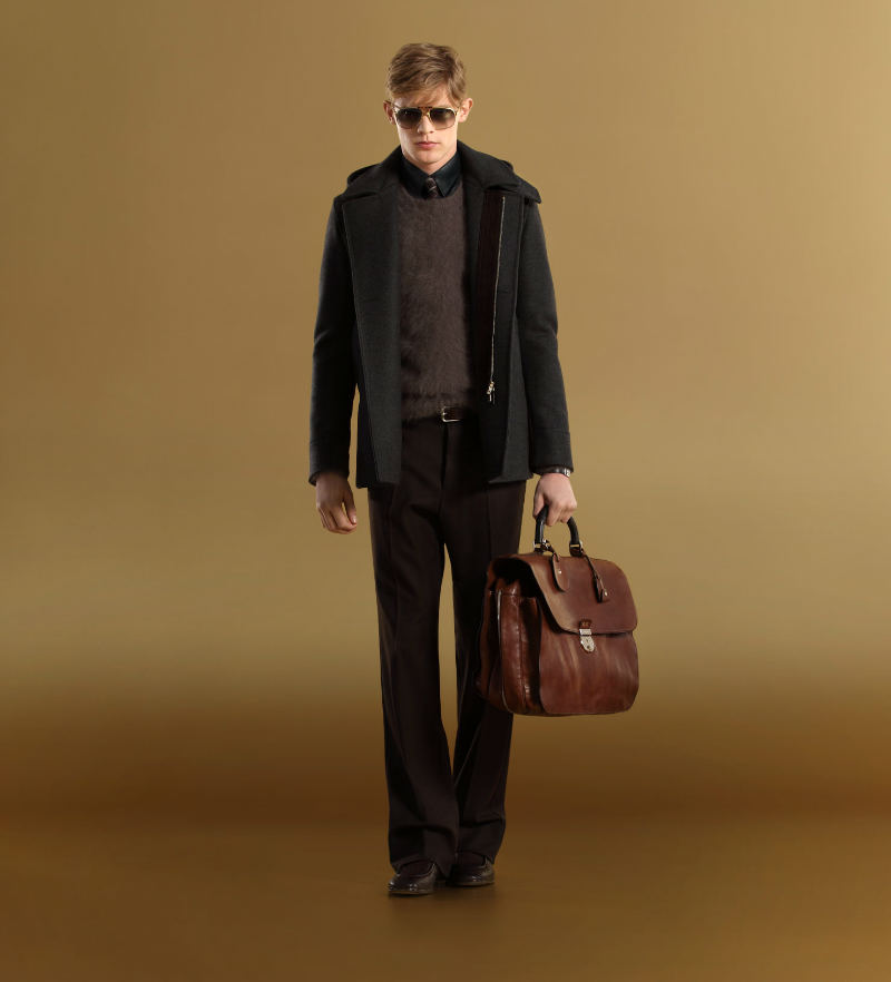 gucci1 Lenz Von Johnston for Gucci Fall 2011