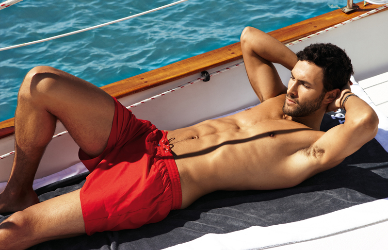 10 Noah Mills by Dean Isidro for Calzedonia Spring 2011 Campaign