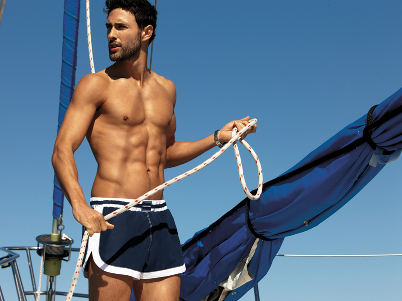 15 Noah Mills by Dean Isidro for Calzedonia Spring 2011 Campaign