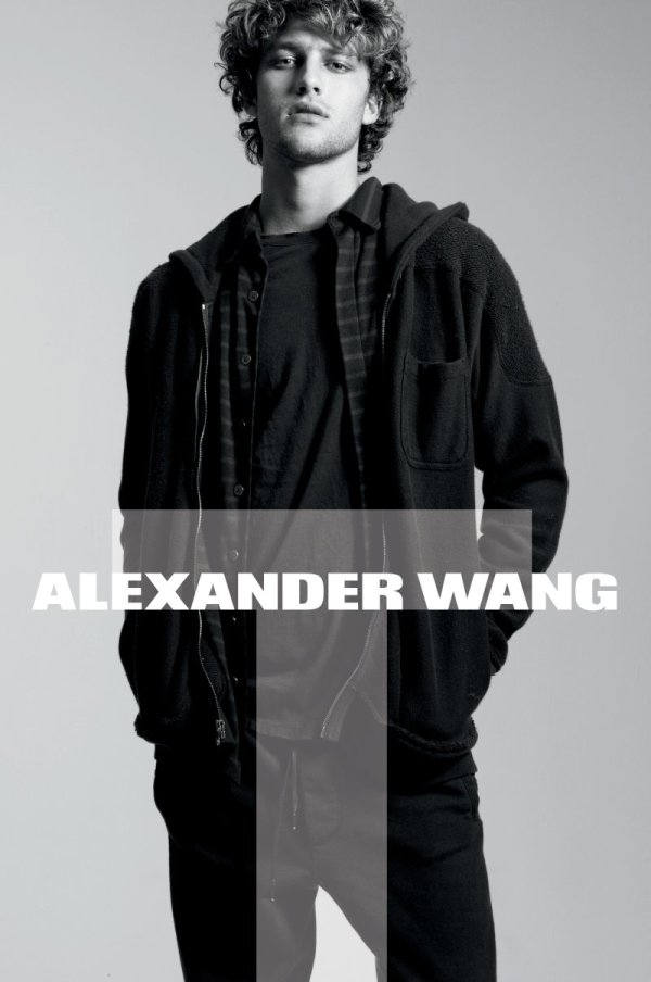 T by Alexander Wang Fall 2010 Campaign | Max Motta & Zoe Kravitz by Daniel Jackson