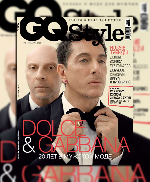 gqrussiacover Celebrating Dolce & Gabbana   Year in Review