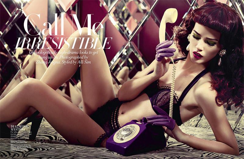 call1 Rudi by Zhang Jingna for <em>Harpers Bazaar Singapore</em>