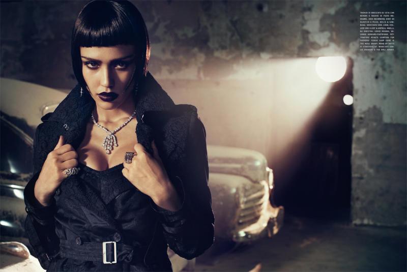 jessica alba5 Jessica Alba by Michelangelo di Battista for <em>Vogue Italia</em> April 2011