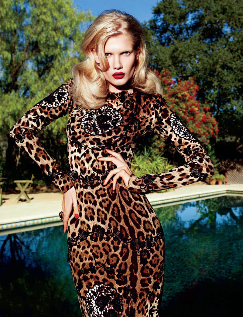 matthias4 Yulia Terentieva by Matthias Vriens McGrath for <em>Elle UK</em> May 2011