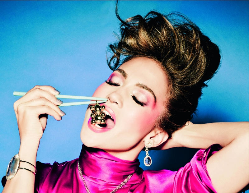 tous7 Jennifer Lopez for TOUS Spring 2011 Campaign by Ellen von Unwerth