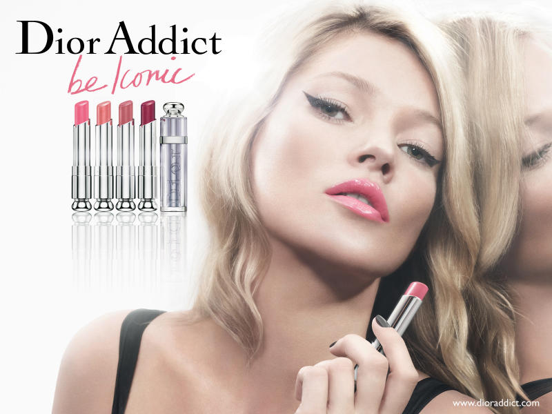 dior2 Kate Moss for Dior Addict Campaign by David Sims