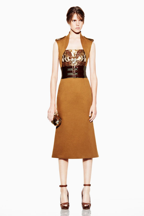 alexander mcqueen1 Alexander McQueen Resort 2012 Collection