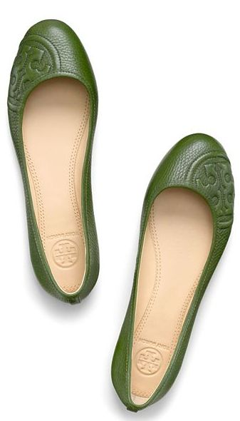 Beautiful Tory Burch ballet flats