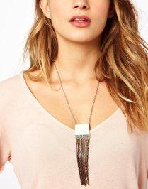 Designsix Tassel Drop Necklace - $13.30