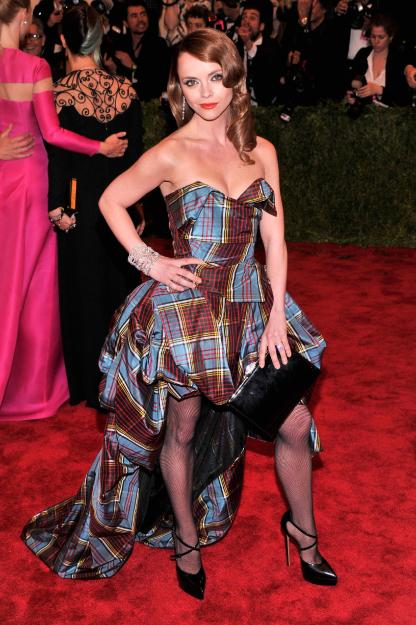 Christina Ricci in Vivienne Westwood - MET Gala 2013