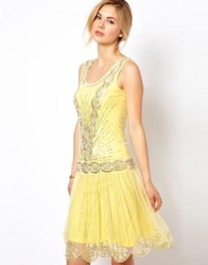 ASOS Frock and Frill Sequin Embellished Dress with Deep V Back - $224.44