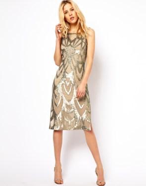 ASOS Needle & Thread Era Silk Midi Dress - $290.94